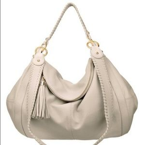 Onna Ehrlich Rachel Cream Mini Hobo Bag